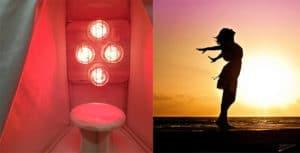 Infrared-Light-Sauna