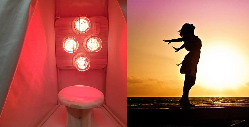 Infrared-Light-Sauna