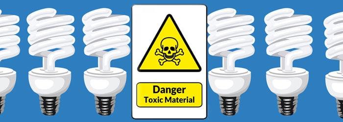 danger of cfl bulbs